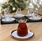 Glore Nıhavent Camillow Krem Rose Gold 6'Lı Çay Seti Krem